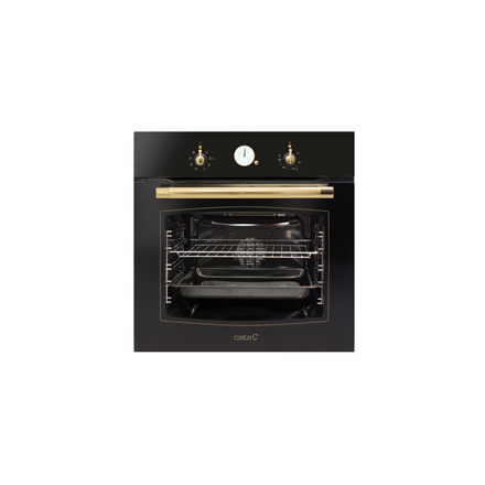 CATA MRA 7008 BK   Multifunctional Oven, 60 L, Black, Aqua Smart, A, Mechanical, Height 59,2 cm, Width 59,2 cm