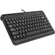 A4Tech Keyboard KLS-5 Multimedia, Wired, Keyboard layout US+Russian, USB, Black, No, Wireless connection No, EN, Numeric keypad, 410 g