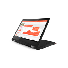 "Lenovo ThinkPad L380 Yoga Black, 13.3 "", IPS, Touchscreen, Full HD, 1920 x 1080 pixels, Gloss, Intel Core i5, i5-8250U, 8 GB, DDR4, SSD 256 GB, Intel UHD, No Optical drive, Windows 10 Pro, 8265 ac, Bluetooth version 4.1, Keyboard language English, Ru"