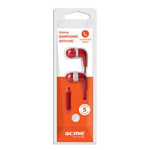 ACME HE15R Groovy earphones with mic