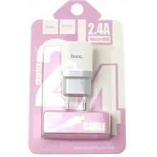 hoco. C22A little superior charger set(with micro cable)EU