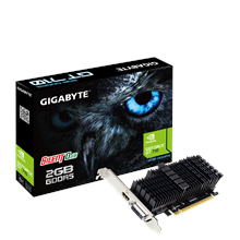 Gigabyte Low Profile NVIDIA, 2 GB, GeForce GT 710, GDDR5, PCI Express 2.0, Processor frequency 954
