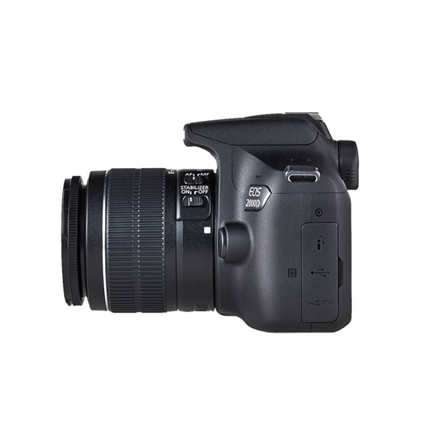 Canon EOS 2000D 18-55 III EU26 SLR Camera Kit, Megapixel 24.1 MP, Image stabilizer, ISO 12800, Display diagonal 3.0