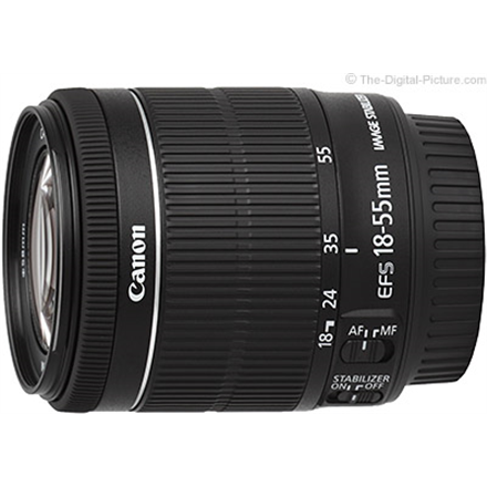 Canon Lens EF-S 18-55mm f 4-5.6 IS STM Canon