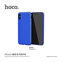 hoco. Phantom series Case, Apple, iPhone X, TPU, Blue