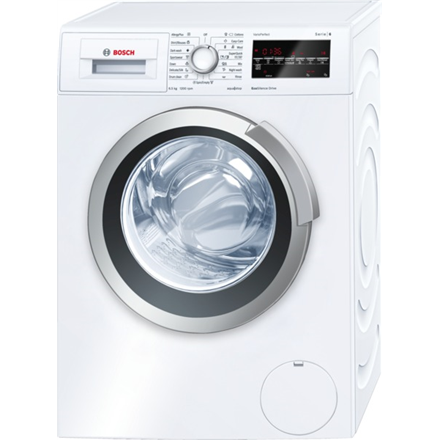 Bosch WLT24440BY  Washing Machine Depth 45cm Big LED Display 6.5Kg 1200RPM EC A+++ EcoSilence Drive VarioSoft AllergyPlus ECARF DrumClean ActiveWater 3D AquaSpar EcoPerfect VarioPerfect SpeedPerfect White