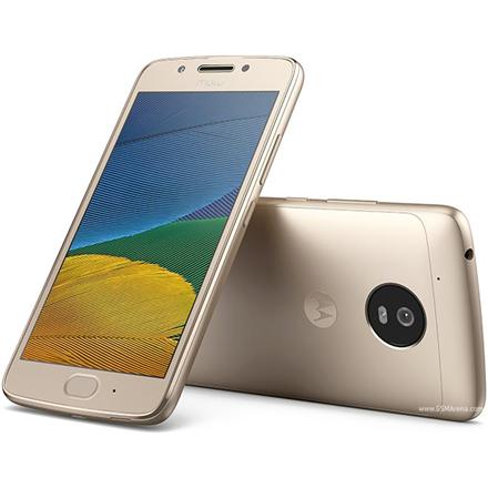 Motorola Moto G5 XT1676 Fine Gold, 5.0 , IPS LCD, 1080 x 1920 pixels, Qualcomm Snapdragon, 430, Internal RAM 3 GB, 16 GB, microSD, Dual SIM, Nano-SIM, 3G, 4G, Main camera 13 MP, Second camera 5 MP, Android, 7.0, 2800 mAh, Warranty 24 month(s)