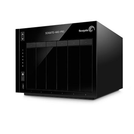 SEAGATE NAS Pro 6-bay 6TB (2x3TB)   2 x Gigabit Ethernet   2 x USB 3.0   1 x USB 2.0   STDF6000200