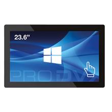 "ProDVX IPPC-24 23.6 "", 250 cd/m², N3160 Quad Core, DDR3L 1600, 4GB, Wi-Fi, Touchscreen, 160"