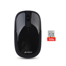 A4Tech mouse G9-110F, wireless, USB (Black)