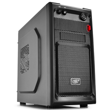 Deepcool Smarter, Mini tower, all black w/o PSU, micro-ATX