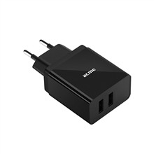 Acme CH205 2-ports USB Wall charger, AC 100–240 V, 3.4A