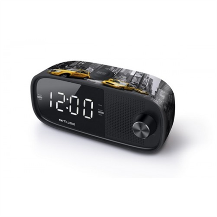 Muse M-168NY Black, Alarm function, Clock Radio PLL