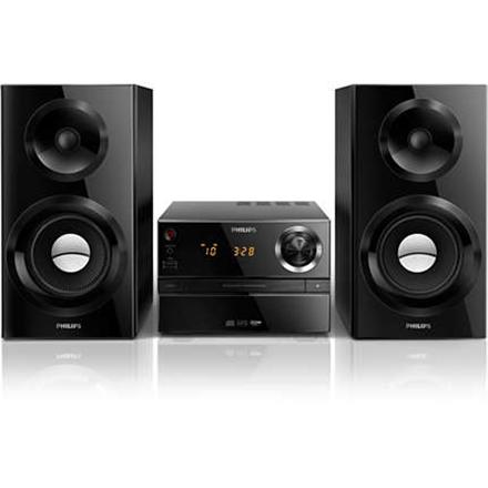 Philips Micro Music System MCM2350 12 USB port, FM radio, CD player