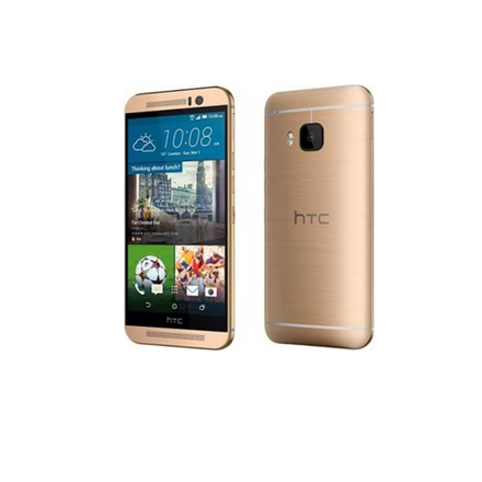 HTC One M9 (Gold) 5.0″ LCD3 1080 x 1920/  1.5 GHz Quad-core & 2 GHz Quad-core/  32GB/  3GB RAM/  Android 5.0/  Camera (primary) 20.7 MP, 5376 x 3752, autofocus, dual-LED (dual tone) flash, Camera (secondary) 4 MP, 1080p@30fps, HDR, Video 2160p@30fps,