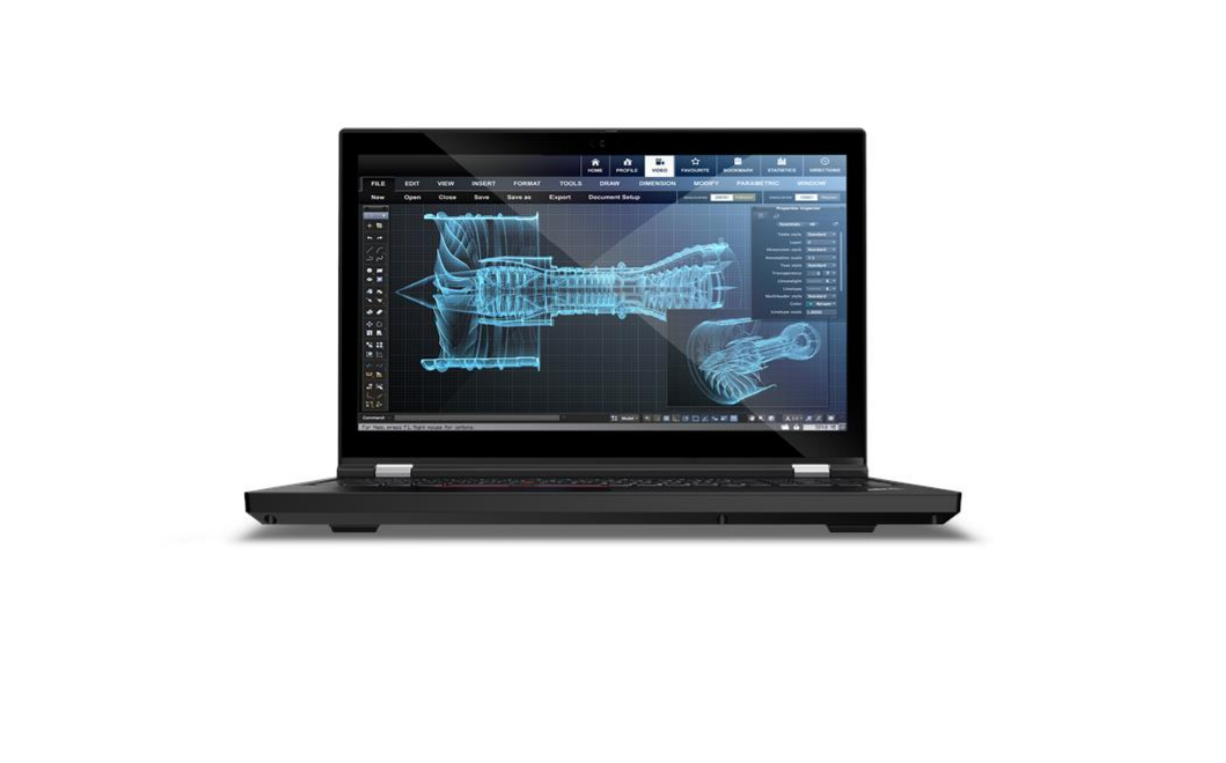 Lenovo  ThinkPad P15 (Gen 1) Black