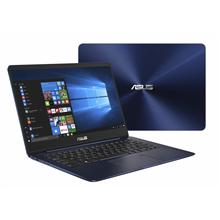 "Asus ZenBook UX430UA Blue, 14.0 "", IPS, FHD, 1920 x 1080 pixels, Matt, Intel Core i7, i7-8550U, 8 GB, DDR3 onboard, SSD 512 GB, Intel HD, Without ODD, Windows 10 Home, 802.11 ac, Bluetooth version 4.1, Keyboard language English, Russian, Keyboard bac"