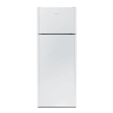 Candy Refrigerator CKDS 5142W Free standing, Height 143 cm, A+, Fridge net capacity 166 L, Freezer net capacity 38 L, 42 dB, White