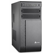 Goldenfield Q8B 450W USB 2.0 x 2 , Mic x 1 , Audio x 1, Black, ATX, Power supply included Yes