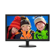 "PHILIPS 223V5LHSB2 21.5"" W-LED/16:9/1920x1080/200cdm2/5ms/H-90,V-65/VGA,HDMI/Tilt,Vesa/Black"