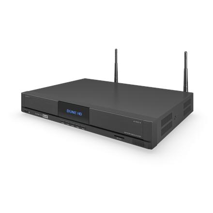 Dune HD Solo Duo  4K Monster media HD Duo 4K media player Wi-Fi, black
