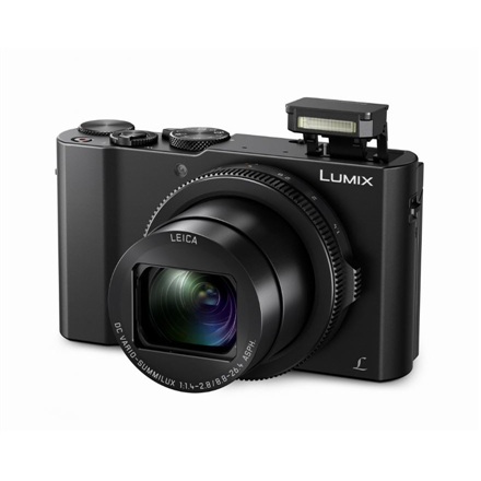 Panasonic Lumix DMC-LX15EP-K Compact camera, 20.1 MP, Optical zoom 3 x, Digital zoom 4 x, Image stabilizer, ISO 6400, Touchscreen, Display diagonal 3.0 , Wi-Fi, Focus 0.03m - ∞, Video recording, Lithium-ion, Black