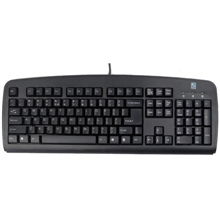 A4Tech Keyboard KB720 standard, wired, EN/RU, USB, black