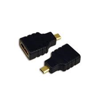 Logilink AH0010 adapter, HDMI Adapter,  HDMI to HDMI Micro, A female to D male