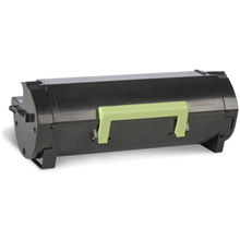 Lexmark 602HE Black High Yield Corporate Toner Cartridge (10K) for MX310dn, MX410de, MX510de, MX511de, MX511dhe, MX610de, MX611de, MX611dhe