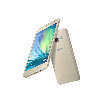 Samsung Galaxy A3 (2016) SM-A310F Gold, 4.7 , Super AMOLED, 1280 x 720 pixels, Qualcomm Snapdragon, 410, Internal RAM 1.5 GB, 16 GB, MicroSD (TransFlash), Single SIM, NanoSIM, 3G, 4G, Main camera 13 MP, Second camera 5 MP, Android, 5.1.1, 2300 mAh,