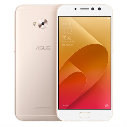 Asus ZenFone 4 Selfie Pro ZD552KL Gold, 5.5 , FHD AMOLED display, 1080 x 1920 pixels, Qualcomm, Snapdragon625 MSM8953, Internal RAM 4 GB, 64 GB, support MicroSD, up to 128G additional storage, Dual SIM, Nano SIM, 3G, 4G, Main camera 16 MP, Second ca