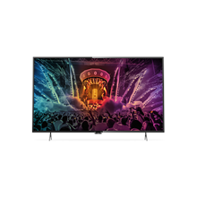 "philips 55PUT6101/60  55"" (139 cm), 4K Ultra HD LED TV, Smart TV/ Dual core processor/ DVB-T/T2/C/ Black Philips"