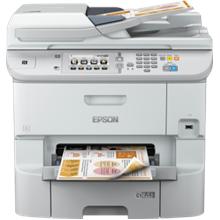 Epson WorkForce Pro WF-6590DWF, Print, Scan, Copy, Fax, 24 ppm Monochrome, 24 ppm Colour, 4.800 x