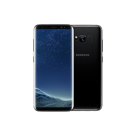 Samsung Galaxy S8+ G955F Midnight Black, 6.2 , Super AMOLED, 1440 x 2960 pixels, Exynos, 8895 Octa, Internal RAM 4 GB, 64 GB, microSD, Single SIM, Nano-SIM, 3G, 4G, Main camera 12 MP, Second camera 8 MP, Android, 7.0, 3500 mAh, Warranty 24 month(s)