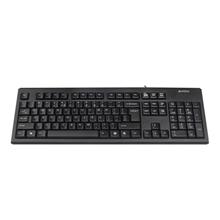 A4Tech keyboard KR-83, PS/2 (Black) (US+Russian)