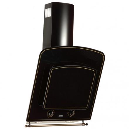 Hood Eleyus Classic 1000 60 BL+RB  Wall mounted, Width 60 cm, 1000 mamp;#179; h, Black, Energy efficiency class C, 49 dB