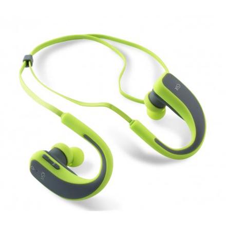KSIX Go and play sport 2 BXAUBT02 Ear-hook, Bluetooth, Microphone, Gray Green