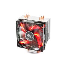 deepcool Gammaxx 400 RED, 4 heatpipes, Intel Socket LGA 2011/115x, 130 W TDP and AMD Socket FMx/AMx/AM4, 125W TDP universal, CPU Air Cooler