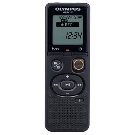 Olympus Digital Voice Recorder VN-541PC  Black, WMA, Segment display 1.39amp;#39;,