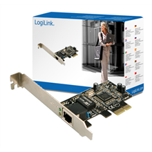 PCI-express card 10/100/1000 LAN MBit REALTEK chip