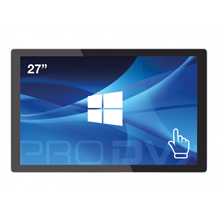 "ProDVX IPPC-27 27 "", 300 cd/m², N3160 Quad Core, DDR3L 1600, 4GB, Wi-Fi, Touchscreen, 160 °,"