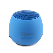 Gembird SPK-103-B Portable speakers, Blue, 2 W