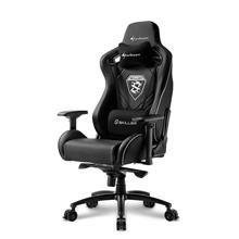Sharkoon XXL Gaming Seat and XXLComfort, Skiller SGS4, Black