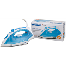 Mesko MS 5023 Steam iron, High quality stainless steel soleplate, Steam burst function, Continuous steam,Vertical ironing, Anti-Calc, Power 2200W