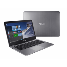 "Asus VivoBook R420SA Gray, 14.0 "", HD, 1366 x 768 pixels, Matt, Intel Celeron, N3060, 4 GB, On"