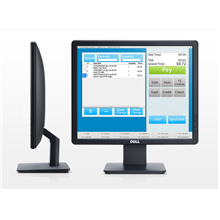 "DELL E1715S 43cm(17"") Std LED monitor Antiglare, VGA, DP (1280x1024) Black 1000:1/ 250 cd/m2/"