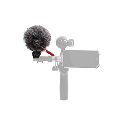 DJI Osmo 360° Mic Mount and Rode VideoMicro Mic