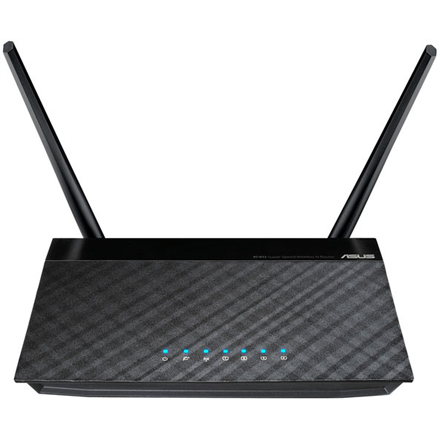 Asus Router RT-N12 10/100 Mbit/s, Ethernet LAN (RJ-45) ports 4, 2.4GHz, Wi-Fi standards 802.11n, 300 Mbit/s, Antenna type External, Antennas quantity 2