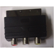 Adapter SCART to 3x RCA
