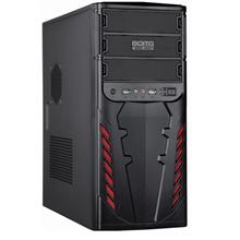 Goldenfield 1076B 450W USB 2.0 x 2 , Mic x 1 , Audio x 1, Black, ATX, Power supply included Yes